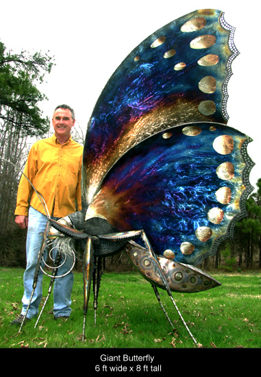 Gary and Giant Butterfly